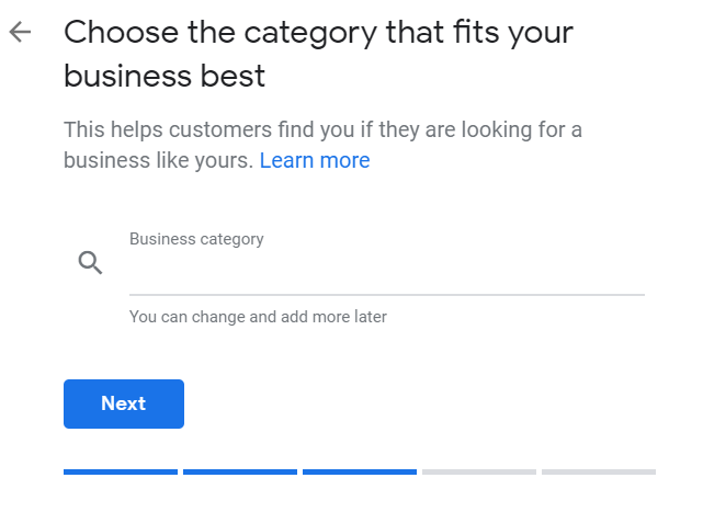 Business Category