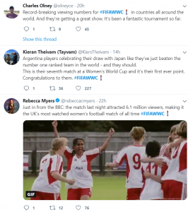 FIFA WWC Twitter Business Account