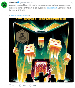 Minecraft Twitter Marketing