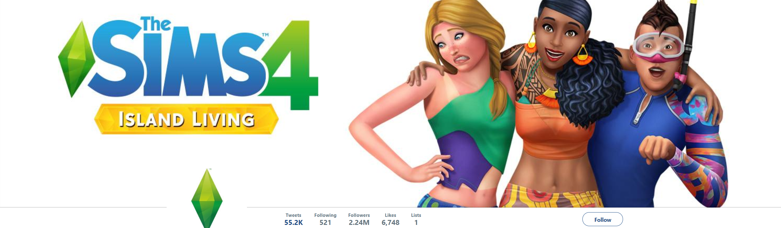 The Sims 4 Twitter Marketing