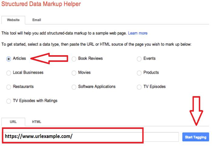 Schema Markup, Step 2