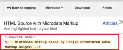 Schema Markup, Step 5