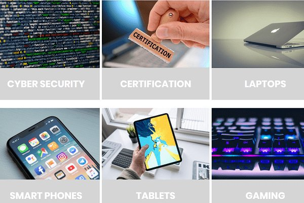 Techlifezine - portfolio