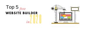 free ecommerce website 2020